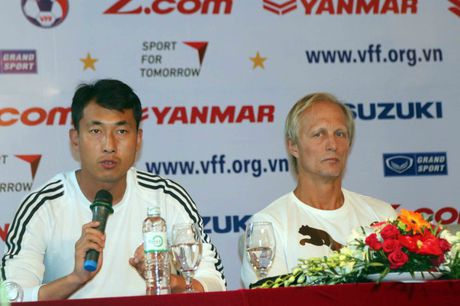 HLV Trieu Tien: Viet Nam la doi thu kho choi - Anh 1