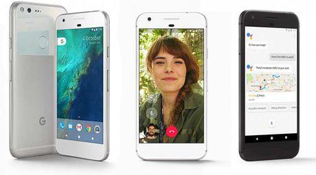 Google chinh thuc ra mat smartphone Pixel va Pixel XL voi gia... 'sieu chat' - Anh 1