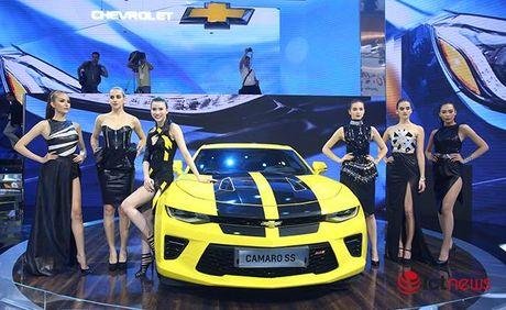 Chi tiet Chevrolet Camaro SS 2016: Xe 'hot' nhat Trien lam o to Viet Nam - Anh 1