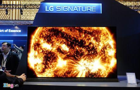 TV LG Signature sieu mong gia tu 169 trieu o VN - Anh 1