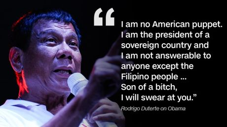 Duterte keu Obama xuong dia nguc, se doan tuyet voi My - Anh 2