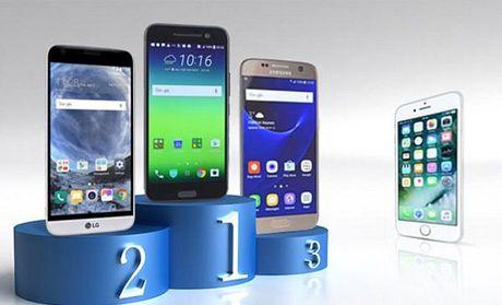 iPhone 7 thua xa cac doi thu Android ve thoi luong pin - Anh 1