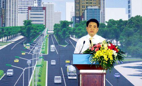 Khoi cong du an duong Vanh dai 3 doan Mai Dich – cau Thang Long, tong muc dau tu hon 3.000 ty dong - Anh 2