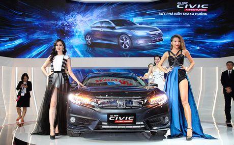 Viet Nam Motor show 2016: Honda voi chu de 'But Pha Kien Tao Xu Huong' - Anh 1