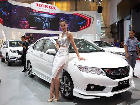 Viet Nam Motor show 2016: Honda voi chu de 'But Pha Kien Tao Xu Huong' - Anh 2