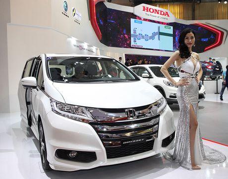 Viet Nam Motor show 2016: Honda voi chu de 'But Pha Kien Tao Xu Huong' - Anh 4