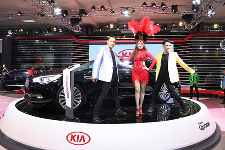 Vietnam Motor Show 2016: Kia ra mat 4 mau xe - Anh 3