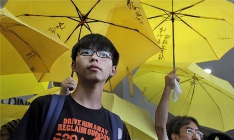 Thai Lan bat thu linh bieu tinh cua sinh vien Hong Kong - Anh 1