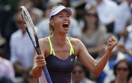 The thao 24h: Maria Sharapova duoc giam an cam thi dau - Anh 1
