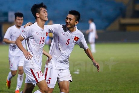 Tuyen U19 Viet Nam san sang cho vong chung ket U19 chau A 2016 - Anh 1