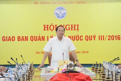 Bo truong Truong Minh Tuan don doc xu ly cac van de nong cua nganh - Anh 1