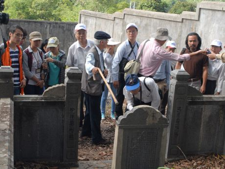Khai quat tham do dau tich Lang mo Hoang de Quang Trung - Anh 1