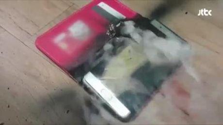 Clip Note 7 chay no, Samsung dau dau doan that gia? - Anh 2