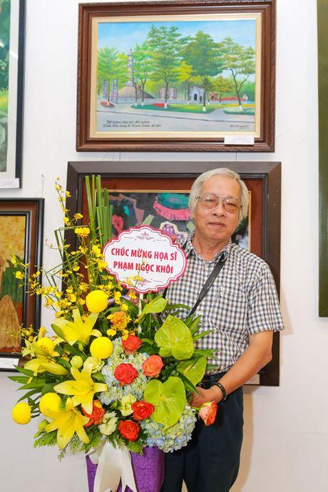 Hoa si Pham Ngoc Khoi: 'Toi yeu Thu Do qua tung con pho nho' - Anh 1