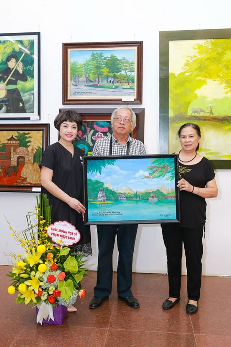 Hoa si Pham Ngoc Khoi: 'Toi yeu Thu Do qua tung con pho nho' - Anh 3