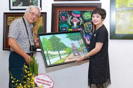 Hoa si Pham Ngoc Khoi: 'Toi yeu Thu Do qua tung con pho nho' - Anh 4