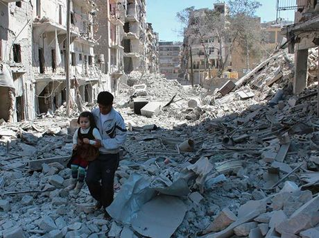 Tran chien Aleppo cham dut 'ba quyen phuong Tay' o Trung Dong? - Anh 1