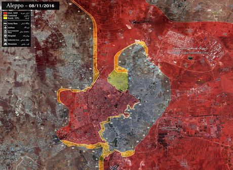 Tran chien Aleppo cham dut 'ba quyen phuong Tay' o Trung Dong? - Anh 2