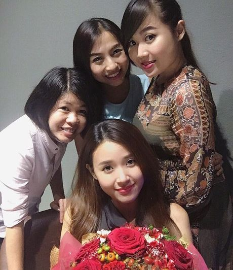 Sinh nhat Midu, Phan Thanh than tho 'no me mot nang dau' - Anh 2