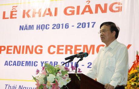 Khoa Quoc te - Dai hoc Thai Nguyen khai giang nam hoc moi - Anh 2