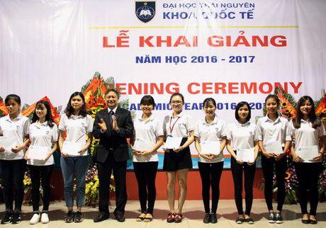 Khoa Quoc te - Dai hoc Thai Nguyen khai giang nam hoc moi - Anh 4