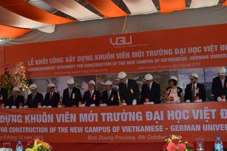 Khoi cong xay dung khuon vien Truong Dai hoc Viet Duc - Anh 1