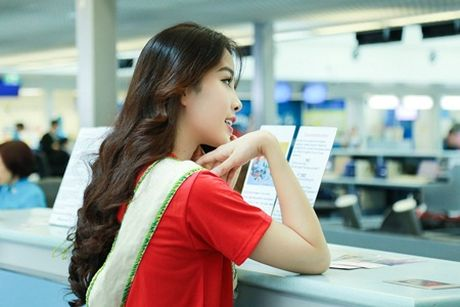 Nam Em chinh thuc len duong du thi Miss Earth 2016 - Anh 8
