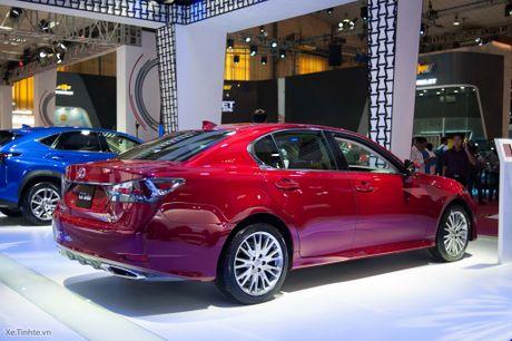 Lexus ra mat GS 200t, dong co tang ap 2.0 241 ma luc, gia 3,13 ti dong - Anh 10