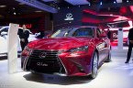 Lexus ra mat GS 200t, dong co tang ap 2.0 241 ma luc, gia 3,13 ti dong - Anh 13