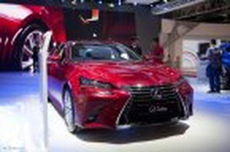 Lexus ra mat GS 200t, dong co tang ap 2.0 241 ma luc, gia 3,13 ti dong - Anh 14