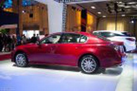 Lexus ra mat GS 200t, dong co tang ap 2.0 241 ma luc, gia 3,13 ti dong - Anh 18