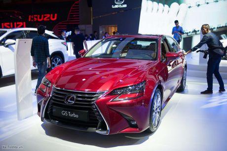 Lexus ra mat GS 200t, dong co tang ap 2.0 241 ma luc, gia 3,13 ti dong - Anh 1
