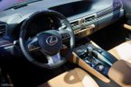 Lexus ra mat GS 200t, dong co tang ap 2.0 241 ma luc, gia 3,13 ti dong - Anh 22