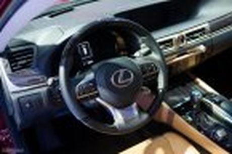 Lexus ra mat GS 200t, dong co tang ap 2.0 241 ma luc, gia 3,13 ti dong - Anh 25