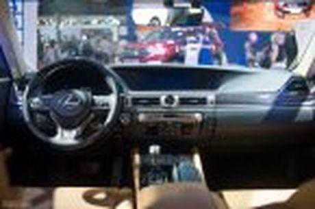 Lexus ra mat GS 200t, dong co tang ap 2.0 241 ma luc, gia 3,13 ti dong - Anh 29