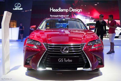 Lexus ra mat GS 200t, dong co tang ap 2.0 241 ma luc, gia 3,13 ti dong - Anh 2