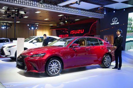 Lexus ra mat GS 200t, dong co tang ap 2.0 241 ma luc, gia 3,13 ti dong - Anh 4