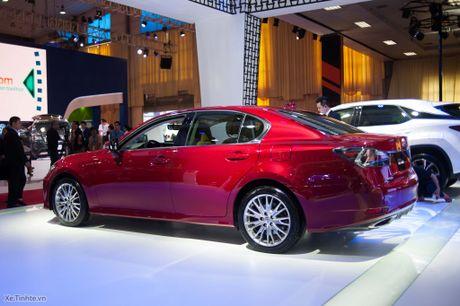 Lexus ra mat GS 200t, dong co tang ap 2.0 241 ma luc, gia 3,13 ti dong - Anh 5