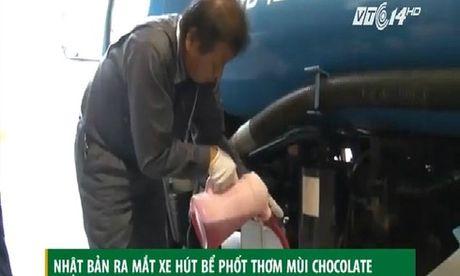 Xe hut be phot thom mui chocolate doc nhat vo nhi o Nhat Ban - Anh 1