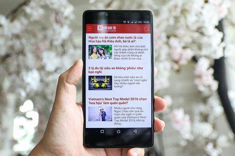 Lo dien smartphone 'an so' Infinix Zero 4 Plus tai Viet Nam - Anh 1