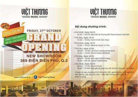 Qua tang cho tin do yeu nhac tai showroom nhac cu lon nhat Viet Nam - Anh 5