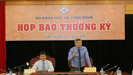 Bo KH&CN hop bao Quy III: Thao go nhieu van de quan trong - Anh 1
