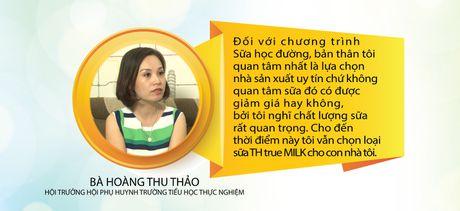 Phu huynh, hoc sinh huong ung chuong trinh Sua hoc duong Quoc gia - Anh 2