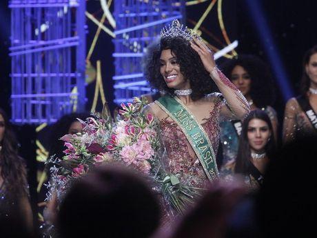 Nhan sac nguoi dep da mau hiem hoi dang quang Hoa hau Brazil - Anh 1