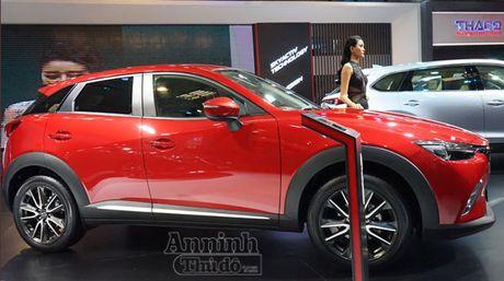 Chi tiet Mazda CX-3 lan dau ra mat khach hang Viet - Anh 1