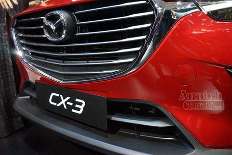 Chi tiet Mazda CX-3 lan dau ra mat khach hang Viet - Anh 3