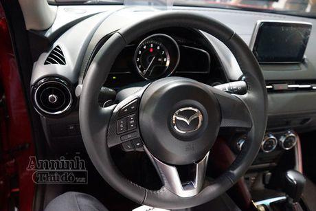 Chi tiet Mazda CX-3 lan dau ra mat khach hang Viet - Anh 8