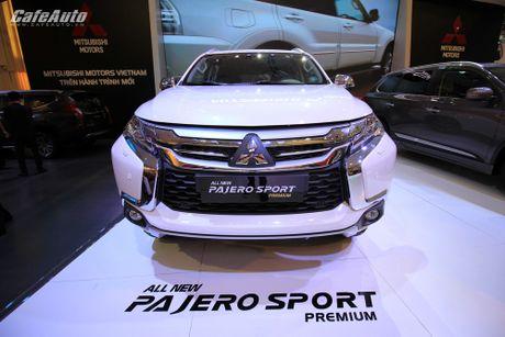Mitsubishi Pajero Sport the he moi ra mat, gia tu 1,4 ty dong - Anh 1