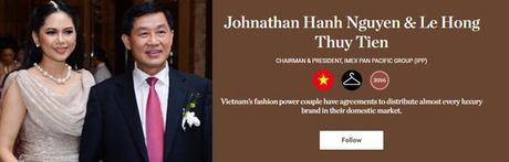 Bo me chong Ha Tang lot top 500 nhan vat anh huong nhat nganh thoi trang TG - Anh 1