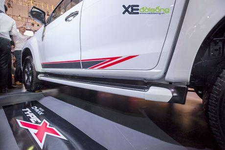Chi tiet xe moi Isuzu D-MAX TYPE X vua ra mat tai Ha Noi - Anh 6